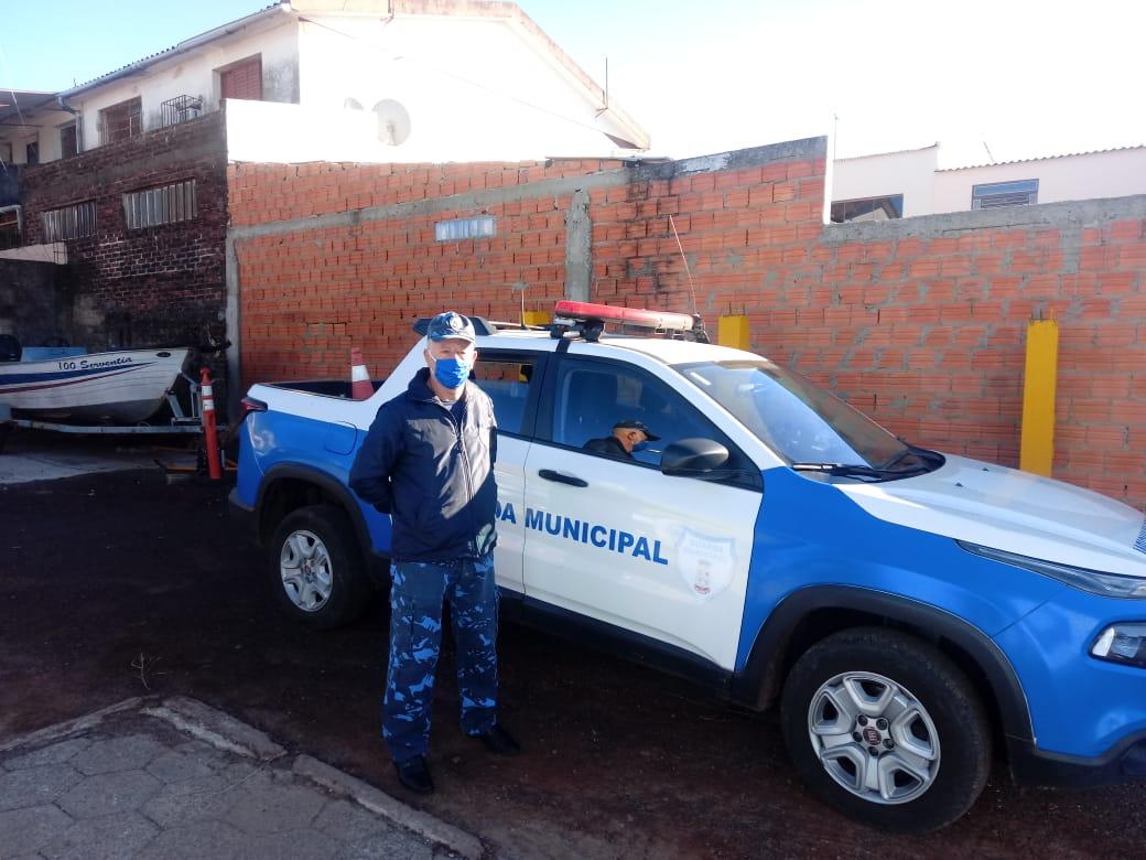 Sidnei Roberto Dorneles, o guarda mais antigo em atividade no Brasil - Minuano FM