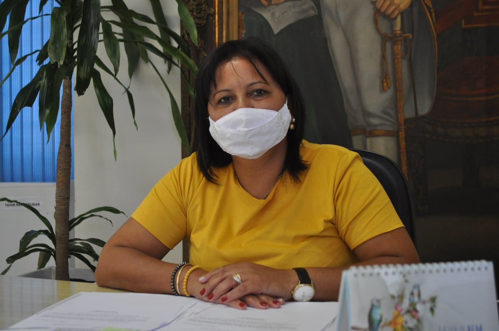Presidente da Câmara, Firmina Soares esteve em agenda na capital - Minuano  FM
